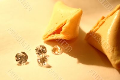 Diamonds and Fortune Cookie