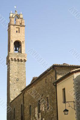 Montalcino (Siena) - Medieval tower