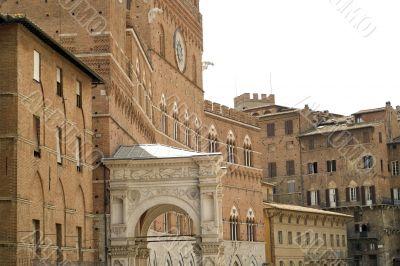 Siena - Historic buildings
