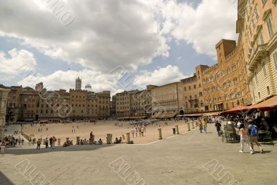 Siena (Tuscany) - The famous Piazza del Campo