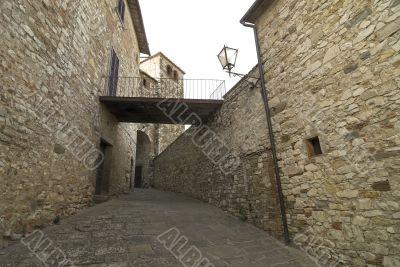 Radda in Chianti, medieval town in Tuscany