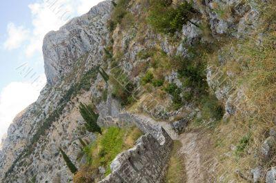 walk into mountains