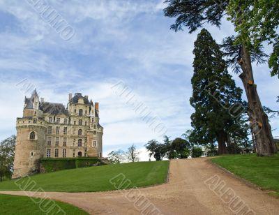 Majestic castle de Brissac