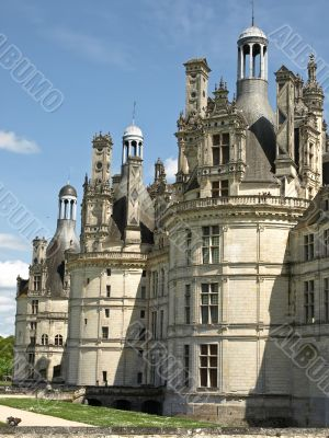 Royal french castle Chambord