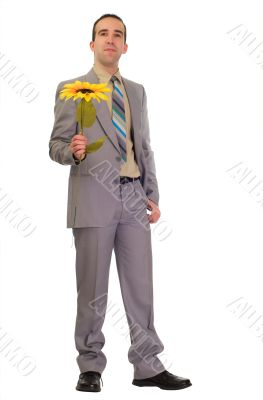 Poor Businessman Gives Fake Flower