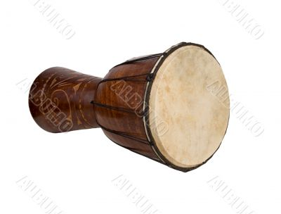 big exotic african drums