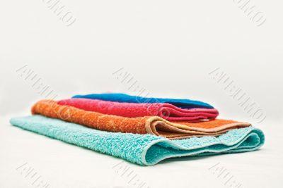 Four colour towels