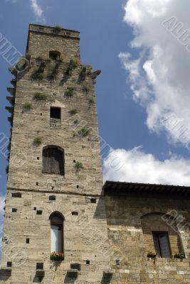 San Gimignano (Siena) - Medieval tower
