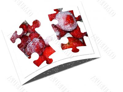 picture puzzle on a white background
