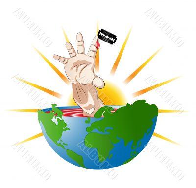 economic crisis, business, hands, human.