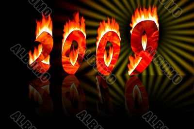 2009 numbers in fire reflect as 2010