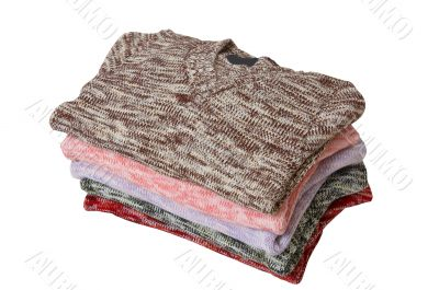 Stack of wonderful sweaters