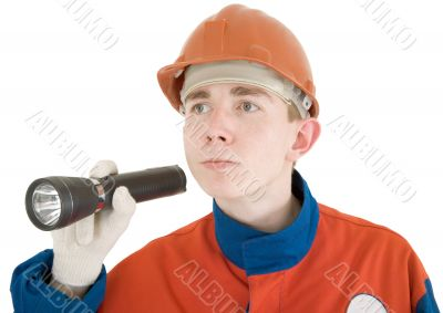 Builder and flash-light