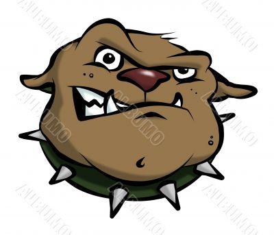 Cartoon Bulldog