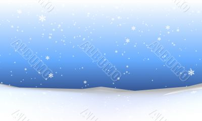 Abstract Snowfall Background 4