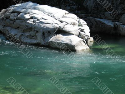 small green water river