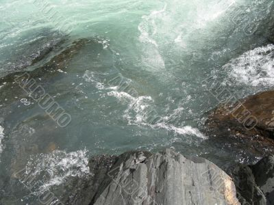 green river water moving