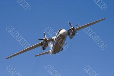 Russian plane in air
