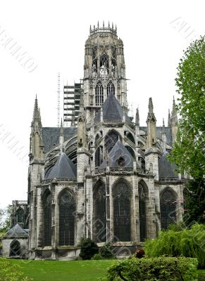 Rouen cathedral. France.