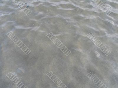 clear wavy lake water