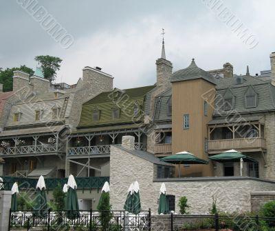 old quebec houses