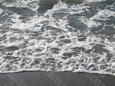ocean wave on the beach