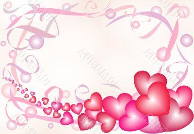 Nacreous hearts