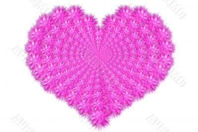 Feathery heart