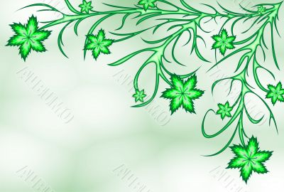 Green lilyes