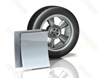 Wheel Icon Documents