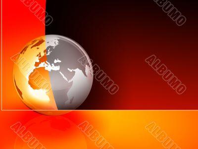 Globe Presentation Background