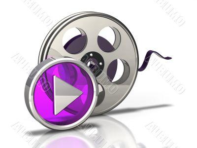 Movie Icon Play