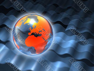 Wavy Globe