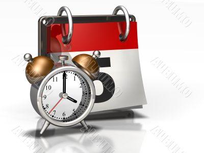 Calendar Icon Alarm