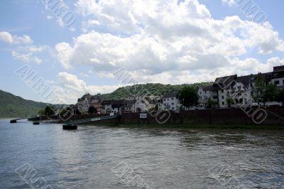 The Rhein riverside