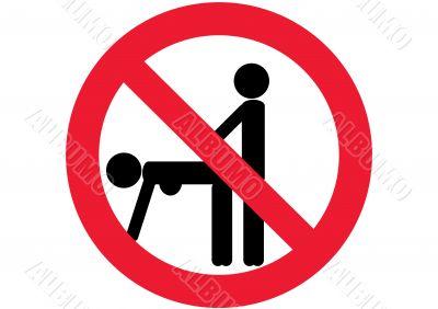 sex prohibited