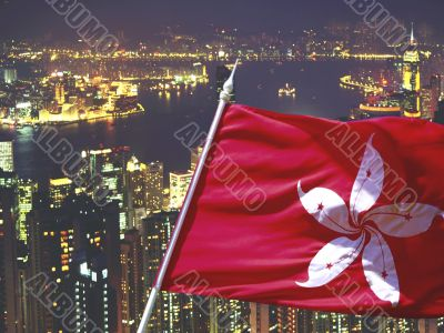 Hong Kong and Flag