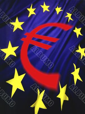 European Union Flag  Euro Symbol