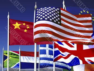 Variety of Flags