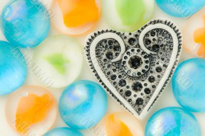 Romantic hearts collection