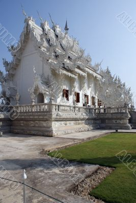 White Temple in North Thailand