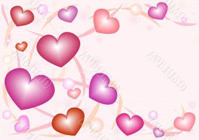 Nacreous hearts 1