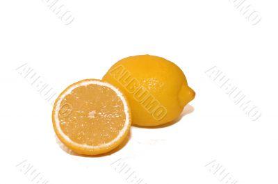 Lemon and a half section