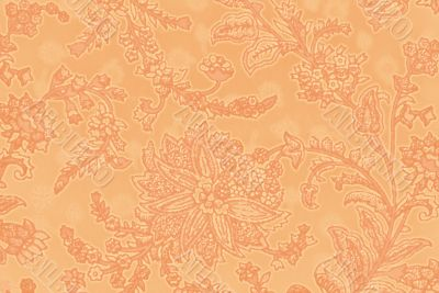 vegetable decorative pattern in Indian style