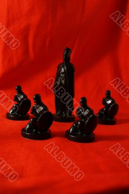 Chess concept of protection
