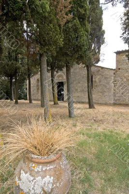 Pieve di Cellole, ancient church in Tuscany