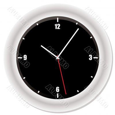 modern bevel clock
