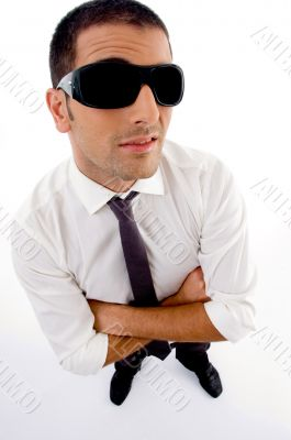 young professional with sunglasses