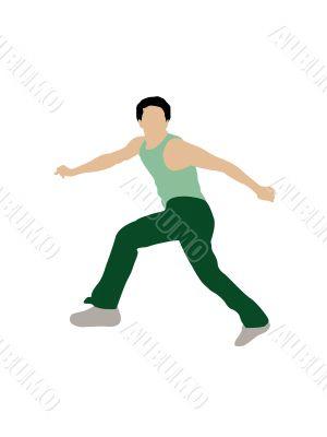 stylish dancer