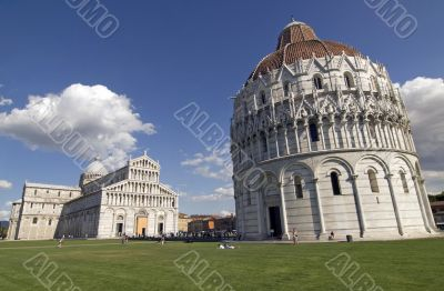 Pisa (Tuscany) - Cathedral and Baptistery